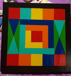 Priceless! My 1st barn quilt is complete.