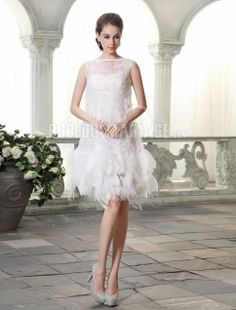 Robe de mariée princesse fourreau col haut dentelle robe pas cher