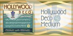 Hollywood Deco SG™ font download