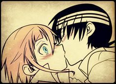 Kid X Crona. Such a innocent ship! ♥