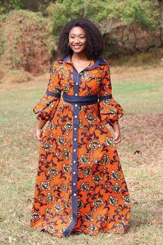 African Shirt Dress, African Shirts, African Dresses For Women, African Attire, African Women, African Fashion Ankara, Latest African Fashion Dresses, African Print Fashion, Africa Fashion