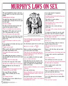 Murphy's Laws On Sex Art Poster Print Funny Video Memes, Funny Quotes, Murphy Law, Law Quotes, Black History Books, Funny Posters, Original Movie Posters, Sex And Love, Life Advice