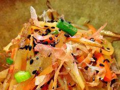 作り置きOK!五種野菜の土佐風きんぴらの画像