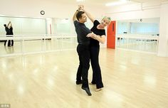 Romantic dance: This weekend, they'll be performing the Viennese Waltz to I've Been Loving You Too Long by Seal