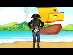 Bewegingstussendoortjes, Cooking Class, Piraat