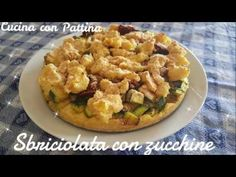 SBRICIOLATA DI PATATE ZUCCHINE E FORMAGGIO - YouTube