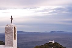 Ios, Cyclades, the sunset Greek Islands, Cn Tower, Greece, Ios, Traditional, Sunset, Country, Building, Travel