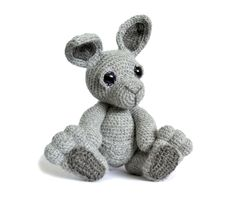 Kangaroo Amigurumi Crochet Pattern PDF Instant Download - Evie by PatchworkMoose on Etsy https://www.etsy.com/listing/193670318/kangaroo-amigurumi-crochet-pattern-pdf