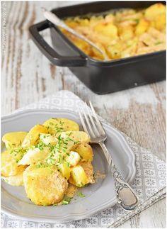 Kartoffel-Spargelauflauf! Der richtige Start in die Spargelsaison. #Rezept