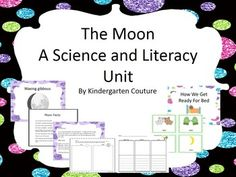 This is a science unit that I created about the moon.  I was finding it difficult to find good material out there for lower primary.  Here is what I came up with.   Lesson plan ideas for you.  Moon Fact Sheet Parent letter Moon Observation Log Phases of the moon little reader Graphic organizer for writing moon facts Flip book for moon phases.