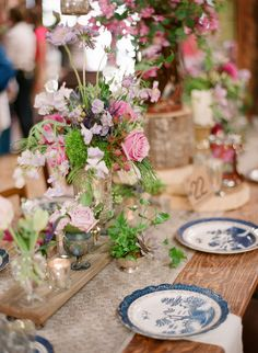 vintage wedding #tablescape