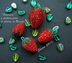 maybe-beads: Fragola e Fragolina