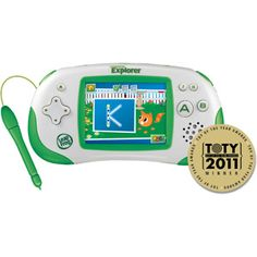 Learn & Explore With The LeapFrog Leapster Explorer™ +Giveaway