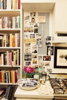 Kitchen collage.