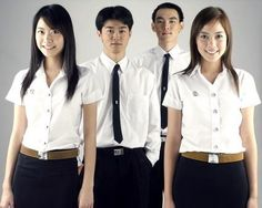 University uniform in Thailand