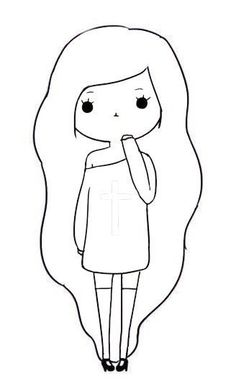 Visual result related to Oblyvian girls - Visual result related to Oblyvian girls, - Cute Easy Drawings, Cute Kawaii Drawings, Cool Art Drawings, Pencil Art Drawings, Doodle Drawings, Disney Drawings, Cartoon Drawings, Doodle Art, Oblyvian Girls
