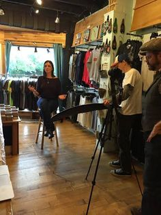 From our recent video production session with Kandle Kidswear at Parts + Labour.