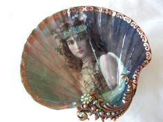 The Goddess Within Me Large Shell Jewelry Dish by rtistmary, $24.00