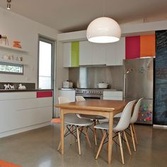 Colorful kitchen - eclectic - kitchen - adelaide - Jeni Lee