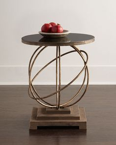 Saturn Side Table at Horchow.