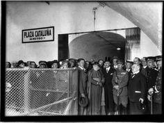 Un libro rescata imágenes inéditas de los primeros metros de Barcelona Emilio, Amp, Fotografia