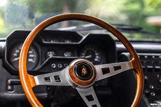 Lamborghini Espada interior