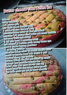Butter cheese cake Cake Receipe, Easy Cake Recipes, Snack Recipes, Cooking Recipes, Resepi Butter Cake, Cake Oven, Resep Cake, Cheesecake, Red Velvet Cookies