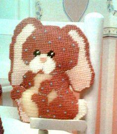 Bobby Bunny buddy glow plastic canvas 6--14 Needlepoint Pillows, Plastic Canvas Crafts, Nurses, Bobby, Iris, Bunnies, Flow, Angels, Creativity