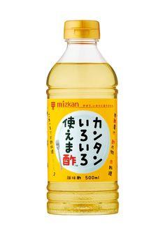 カンタンいろいろ使えま酢(2012)お酢のパッケージ