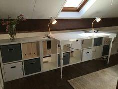 Rangement sous pente on optimise un max rangement loft room