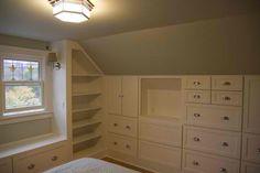 attic built-ins