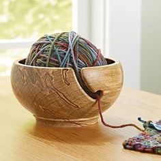 Spin a Yarn Bowl Woodworking Plan, Turning Projects