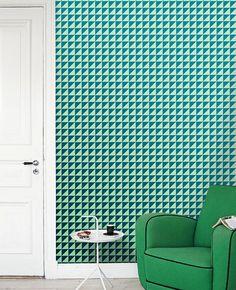 Removable selfadhesive modern vinyl Wallpaper by PatPrintbyAmy, $36.00