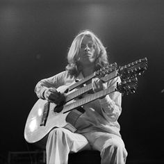 Led Zeppelin John Paul Jones Mandolin Three Neck Guitar