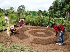 Resultado de imagem para como fazer horta na chacara Outdoor Decor, Raised Beds, Gardening, Log Projects, Spirals