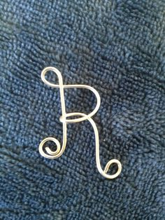 Letter R Sterling Silver Silver jewelry Lilyb444 Etsy by Lilyb444, $18.99