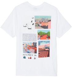 Stussy CRACKED Black Off White Graphic Print Logo S//S Regular Fit Men/'s T-Shirt