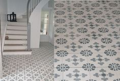 Tiles, Flooring, New Homes, Cement Tile, Vintage House, Home, Dream Floors, Cool Rooms, Home Decor