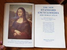 Mona Lisa/ Encyclopedia Most Famous Paintings, The Rev, Mona Lisa, Cover, Books, Livros, Book, Libri