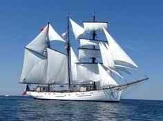 """Marité"", last french sailing Newfoundland fishing ship"