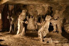 Places to Go: Wieliczka Salt Mine in Krakow, Poland.