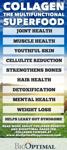 Collagen is an incredible multifunctional superfood with a wide variety of health benefits!  Read our blog post to learn more...