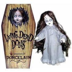 Living Dead Dolls: Porcelain Posey 18 Inch Tall - HobbyStuf