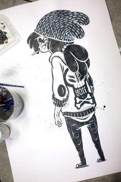Anna J - ilustración