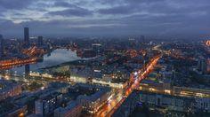 Yekaterinburg at Night by Evgeny Tchebotarev on 500px