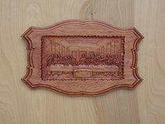 The Last Supper by Leonardo da Vinci 16x10 by TheWoodGrainGallery