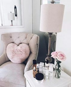 Image de pink, room, and home