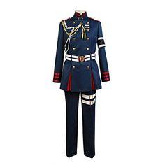 Ya-cos Seraph of the End Guren Ichinose Uniform Cosplay Costume