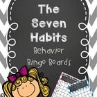 The 7 Habits Behavior BINGO Boards!  These are 7 Behavior BINGO boards highlighting the 7 Habits of Highly Effective Students:  1. Be Proactive 2. ...