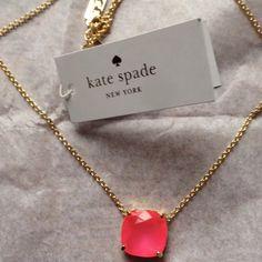 Spotted while shopping on Poshmark: NWTKATE SPADE CAUSE A STIR PENDANT NECKLACE! #poshmark #fashion #shopping #style #kate spade #Jewelry